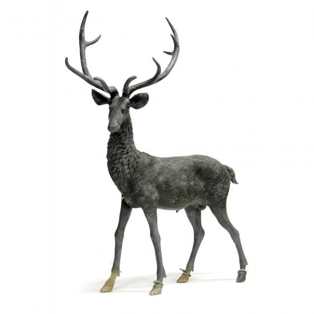 life-size-bronze-sculpture-of-a-stag