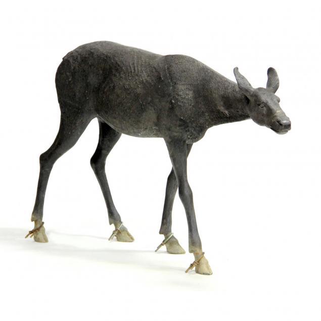 life-size-bronze-sculpture-of-a-doe