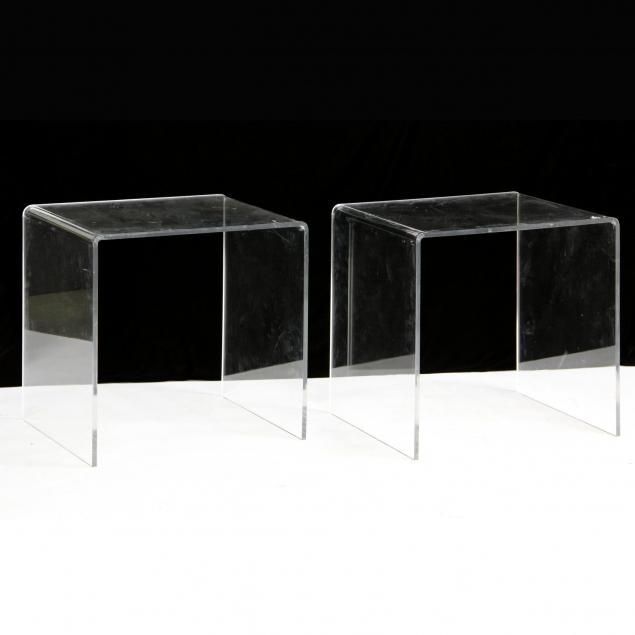 pair-of-lucite-side-tables