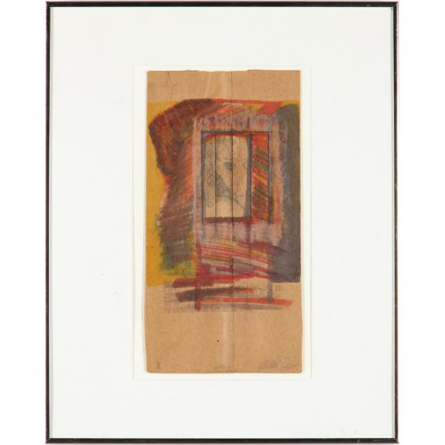 20th-century-mixed-media-on-paper-bag