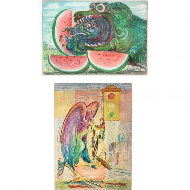 j-louis-cobb-20th-century-two-mid-century-illustrations