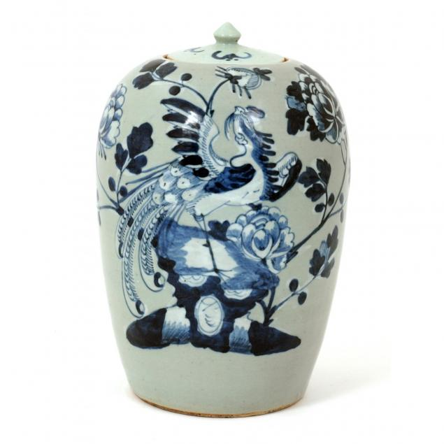 chinese-gray-and-blue-ginger-jar-with-phoenix