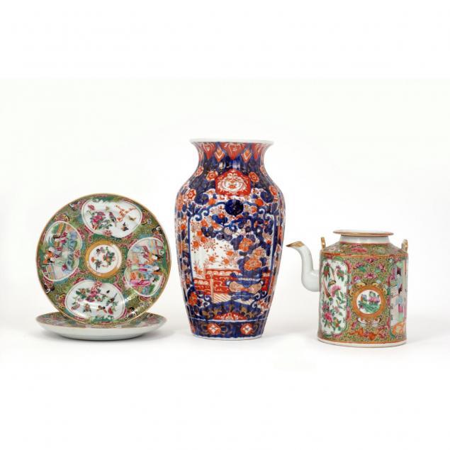 group-of-asian-porcelain-ceramics