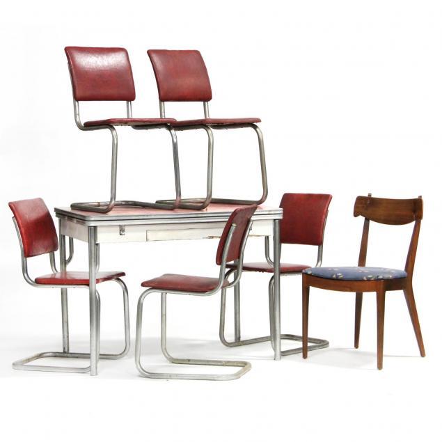mid-century-dinette-set
