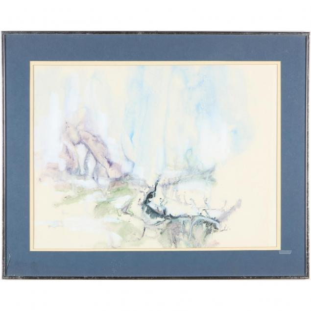 gloria-rosenthal-ny-20th-century-abstract-landscape