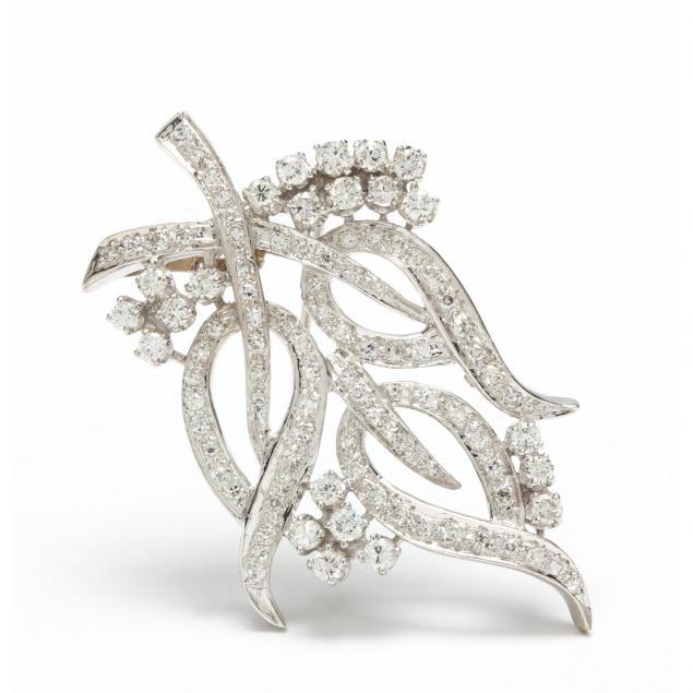 edwardian-14kt-white-gold-and-diamond-brooch-pendant