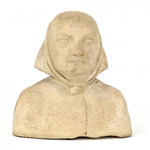 pottery-bust-of-a-woman