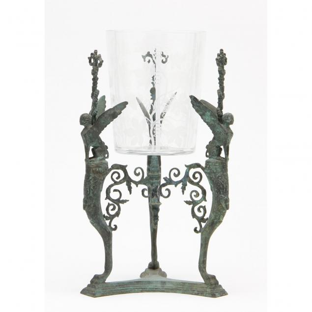 grand-tour-bronze-stand-with-vase