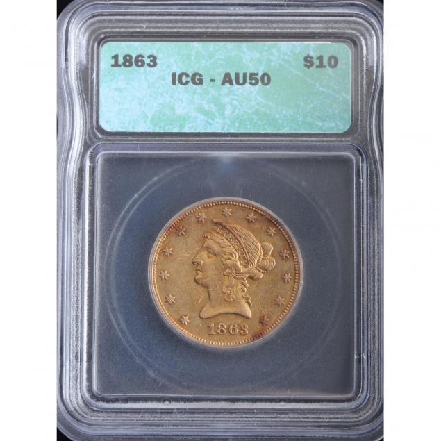 1863-10-gold-eagle-icg-au50