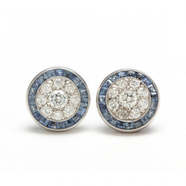 platinum-diamond-and-sapphire-earrings
