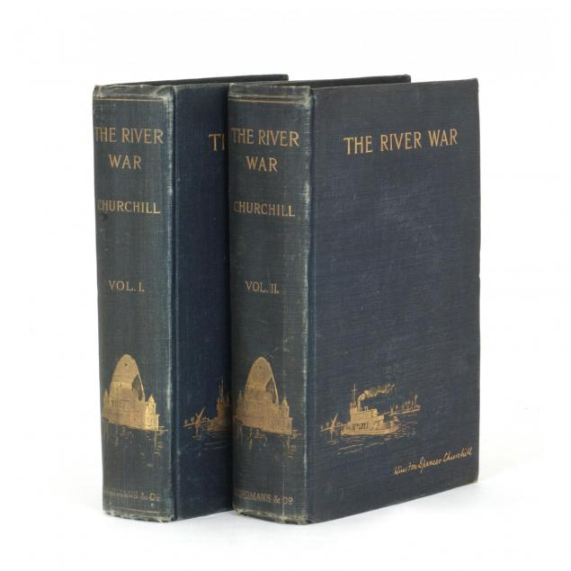 winston-churchill-i-the-river-war-i-first-edition