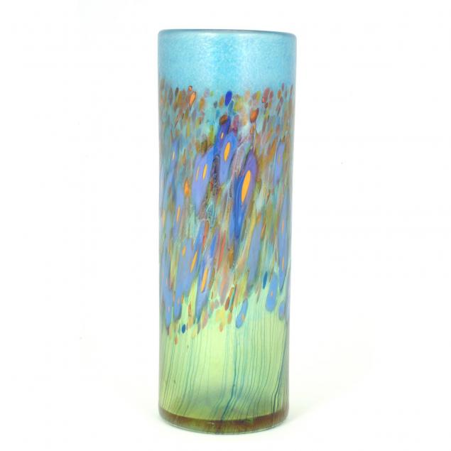 robert-held-canadian-20th-century-tall-floral-vase