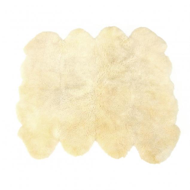 bowron-gold-star-sheep-skin-rug