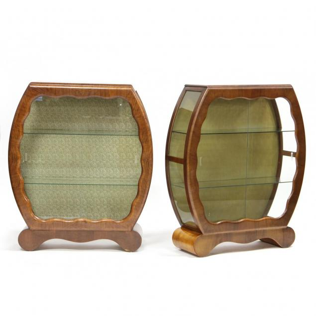pair-of-english-art-deco-style-curio-cabinets