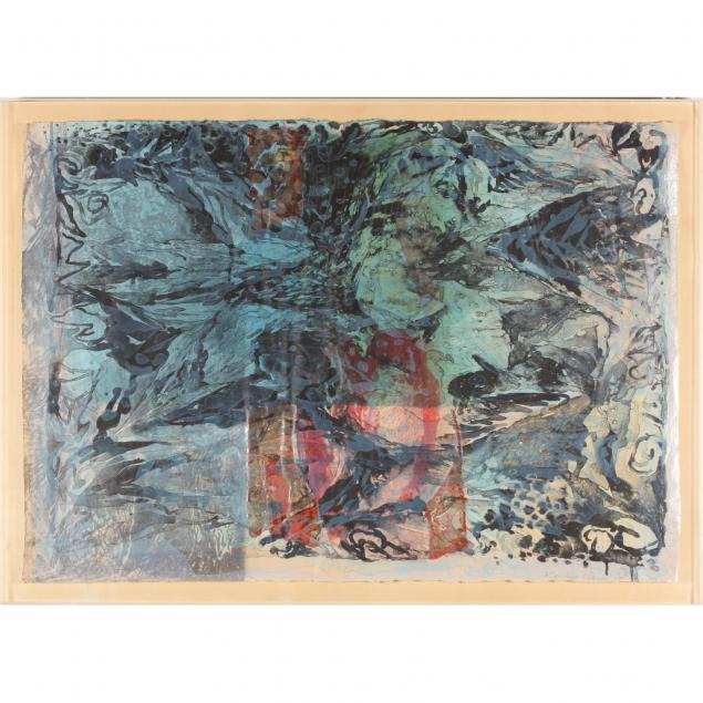 keiko-hara-japanese-b-1942-abstract-composition