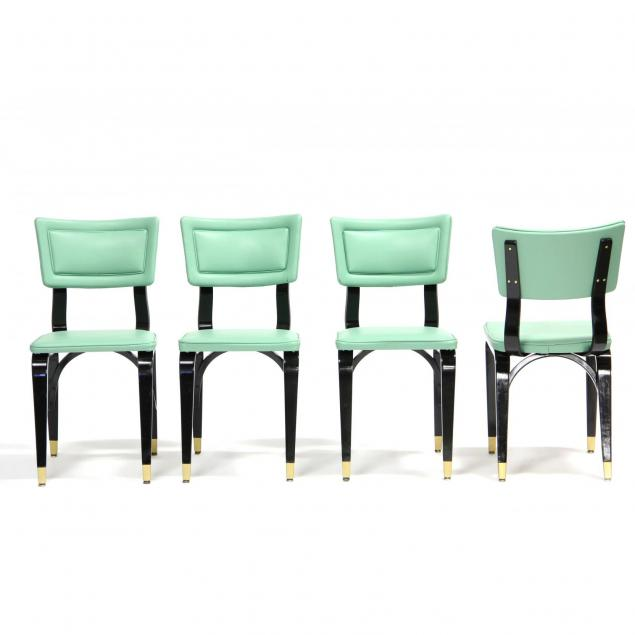 thonet-four-mid-century-bentwood-chairs