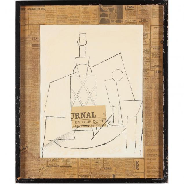 framed-exhibition-poster-for-picasso-s-papiers-colles-dessins