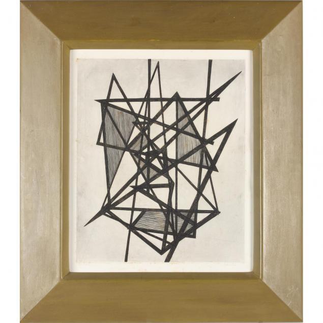 pierre-courtin-fr-1921-2012-geometric-print