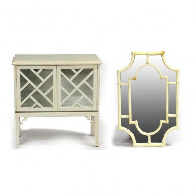 chinese-chippendale-style-cabinet-with-mirror