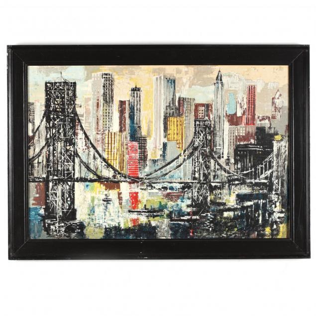 vibrant-mid-century-view-of-brooklyn-bridge