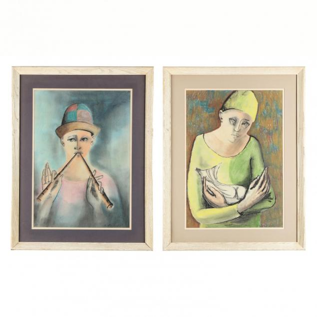 two-paintings-of-pierrot