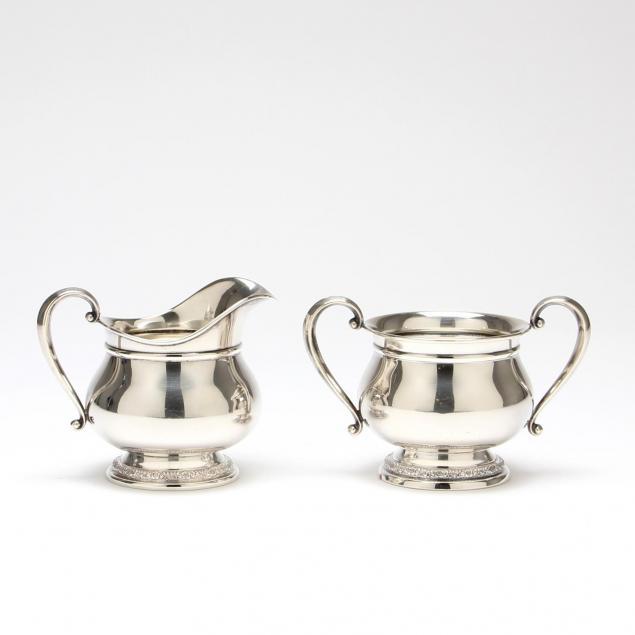 international-prelude-sterling-silver-sugar-creamer-set