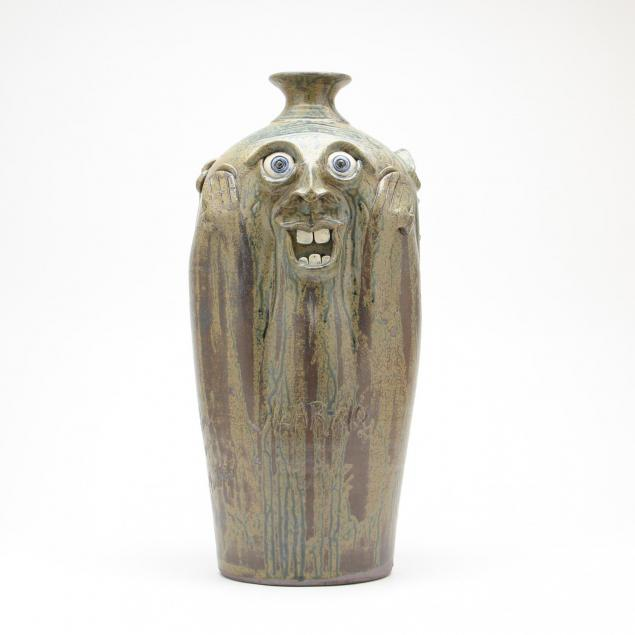 georgia-folk-pottery-no-evil-face-vase-steve-turpin