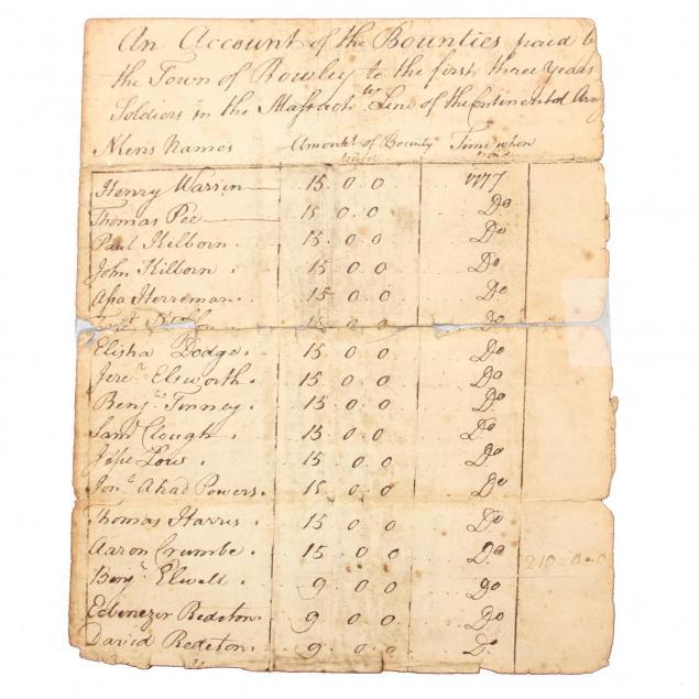 a-massachusetts-town-s-revolutionary-war-roster-of-volunteers