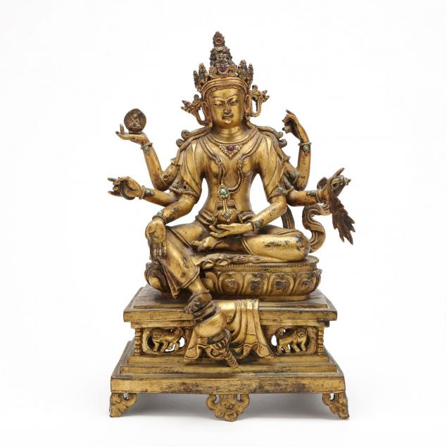 nepalese-sculpture-of-vasudhara