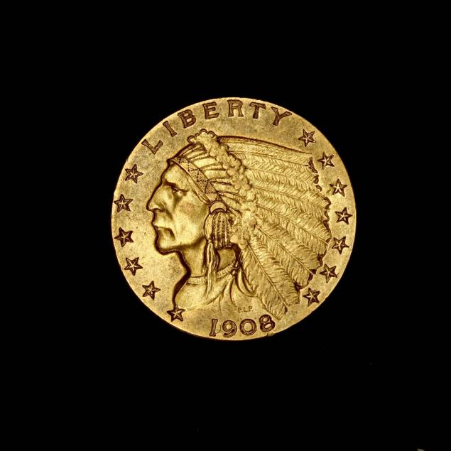 1908-2-50-indian-head-gold-quarter-eagle