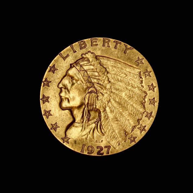 1927-2-50-indian-head-gold-quarter-eagle