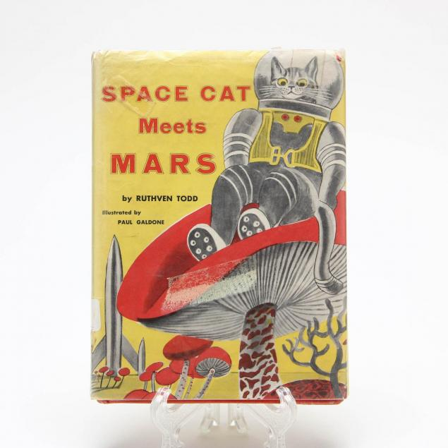 space-cat-meets-mars-ruthven-todd-first-edition