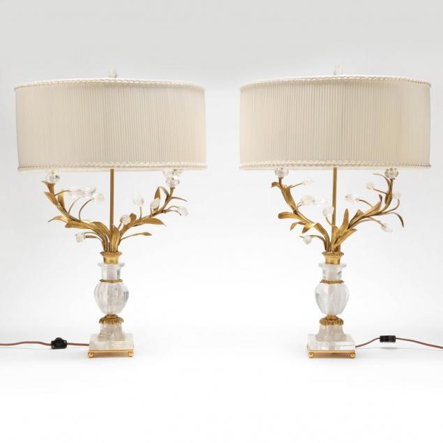 pair-of-italian-gilt-bronze-rock-crystal-table-lamps