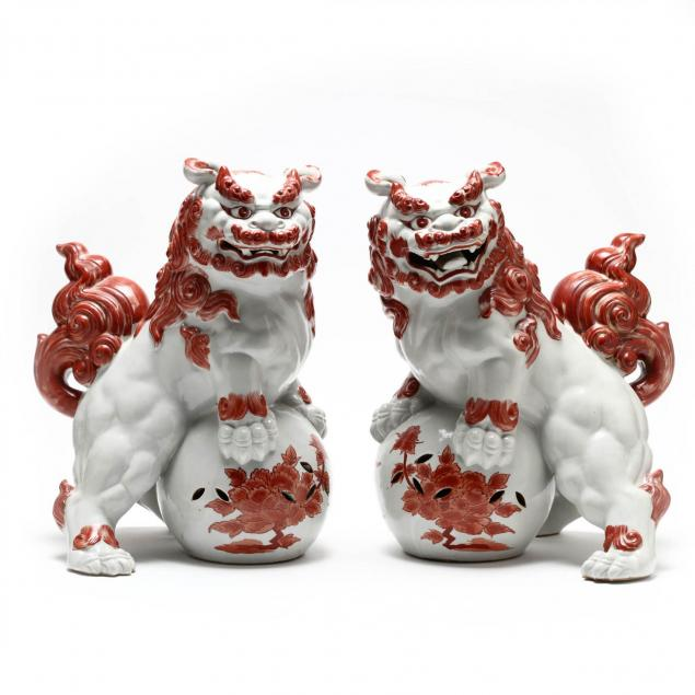 pair-of-chinese-porcelain-foo-lions