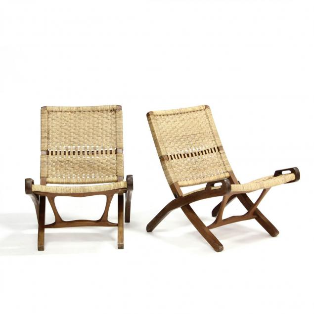 pair-of-danish-modern-folding-lounge-chairs