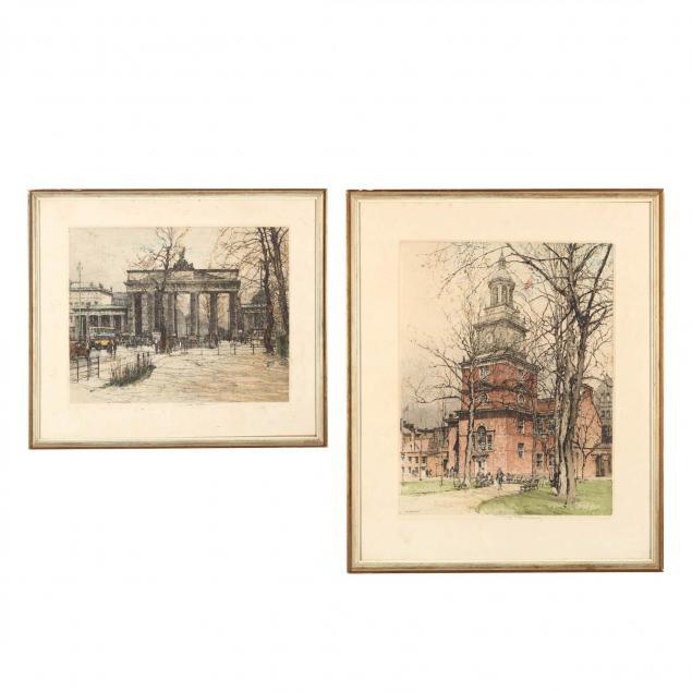 luigi-kasimir-austrian-1881-1962-two-architectural-prints