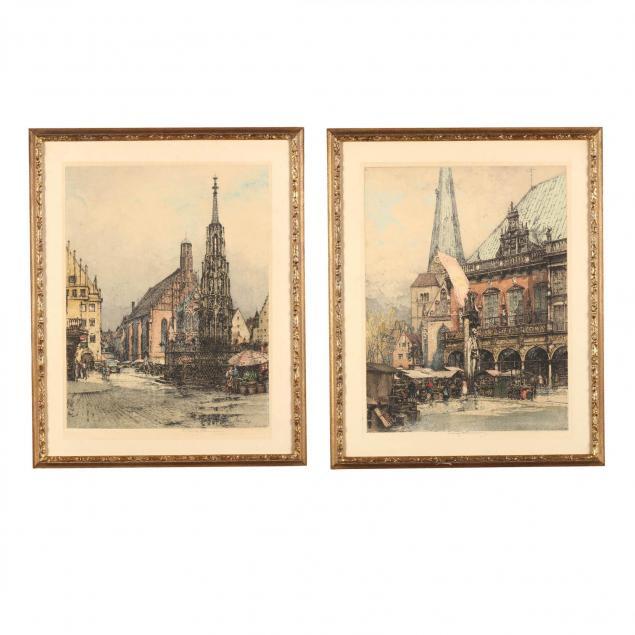 luigi-kasimir-austrian-1881-1962-two-german-views