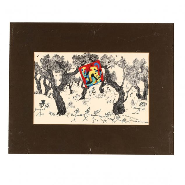 joan-miro-sp-1893-1983-with-george-ribemont-dessaignes-and-jacques-prevert-i-composition-for-jacques-prevert-i