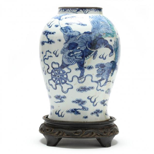 large-blue-and-white-ginger-jar