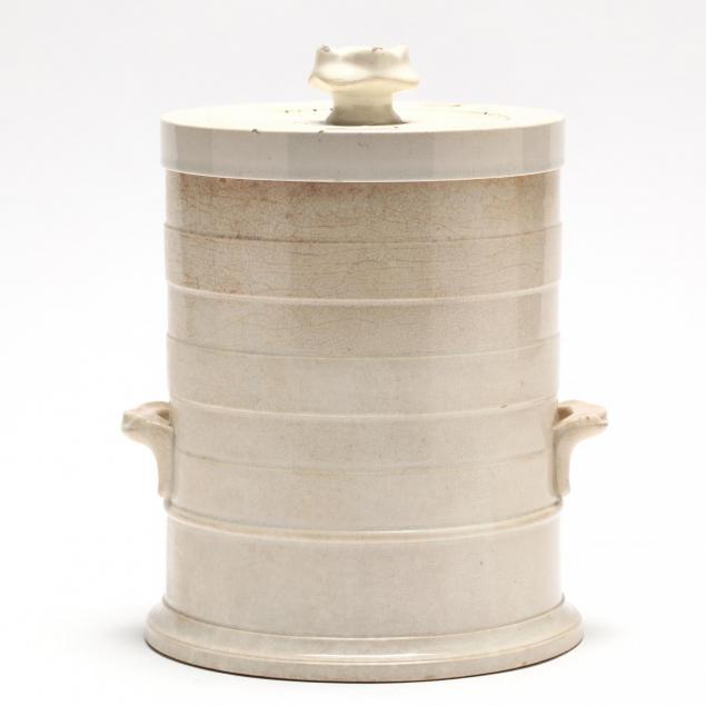 cream-ware-leech-jar