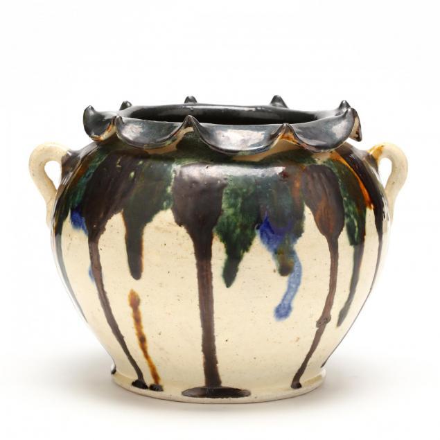 nc-folk-pottery-billy-ray-hussey-vase