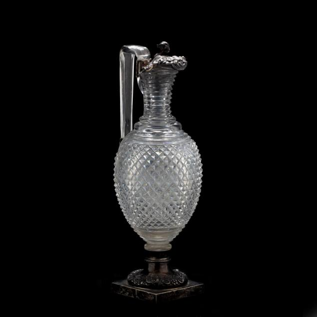 antique-cut-glass-and-silver-claret-jug