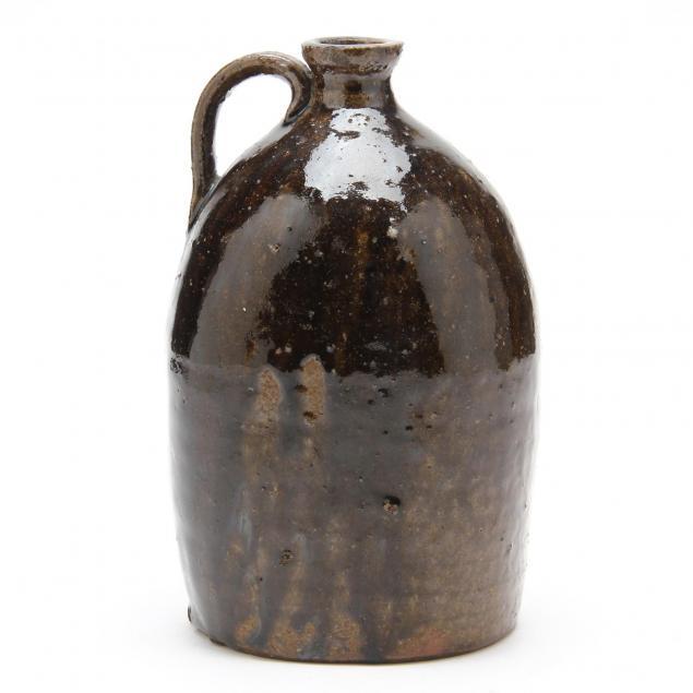 western-nc-pottery-saddle-jug