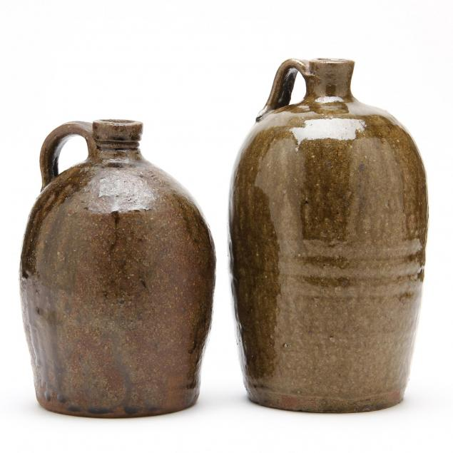 western-nc-pottery-two-small-jugs