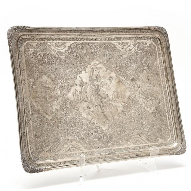 a-persian-silver-tray