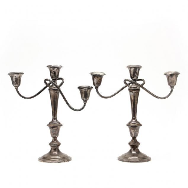 gorham-pair-of-sterling-candelabra