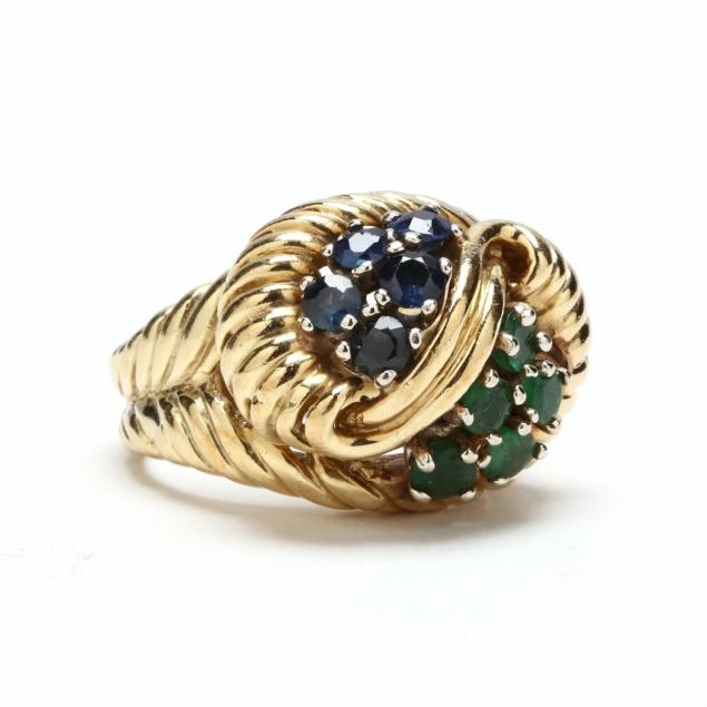 14kt-emerald-and-sapphire-ring