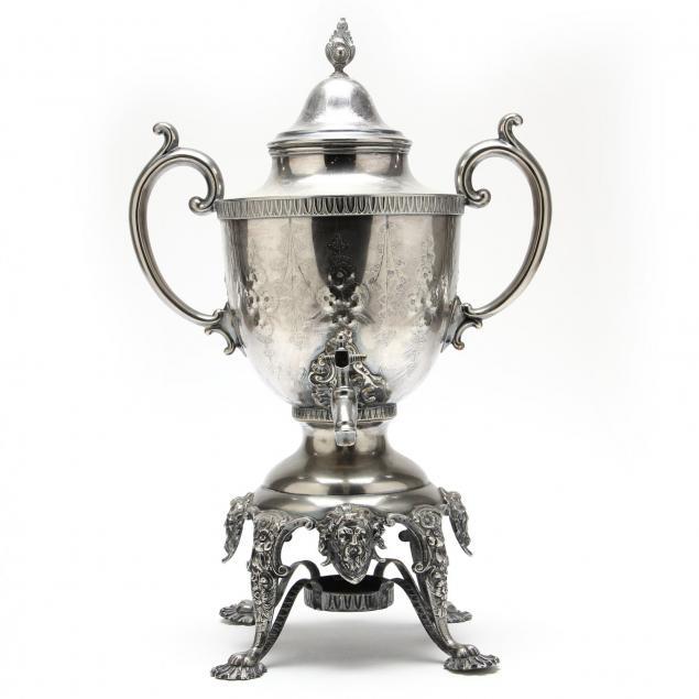 antique-renaissance-revival-silverplate-tea-urn