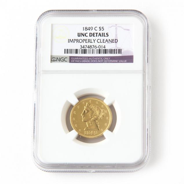 1849-c-5-liberty-head-gold-half-eagle
