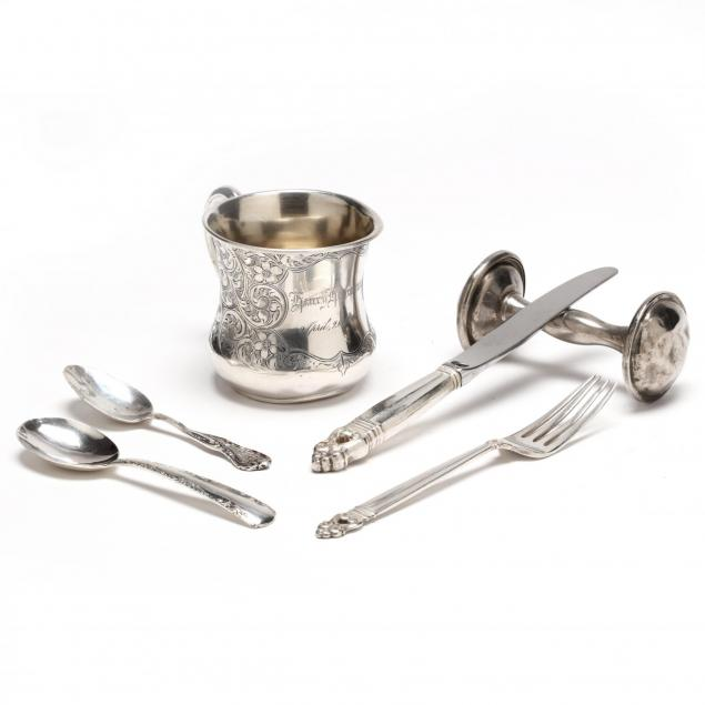 group-of-child-s-sterling-silver
